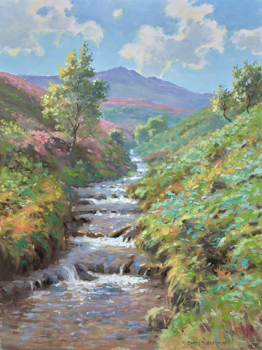 Fairbrook Valley by james preston -  sized 16x21 inches. Available from Whitewall Galleries